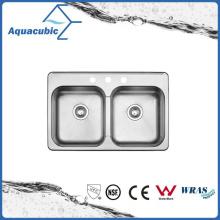 Конкурентоспособная Цена двойной шар модульная мойка (AS8052AM)