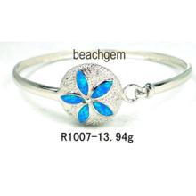 Opal Silver Bangle Jewelry (YB00012)