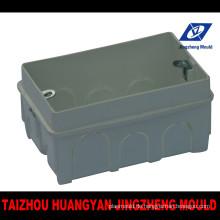PVC-Schaltkasten Einbau Spritzgießwerkzeug