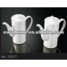 Высококачественный фарфоровый кофе / молочный горшок (№ T0017)