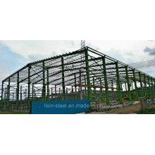 Estructura de acero estable prefabricada
