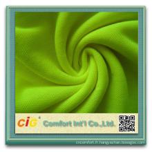 POLO Shirt haute qualité prix de tissu de coton piqué