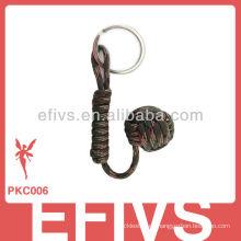 Puño del mono del paracord de 2013 550 llaveros personalizados