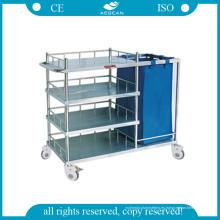 Carro hospitalario para hacer la cama y la carretilla de enfermería AG-Ss010b
