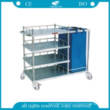 Hospital Cart for Making up Bed and Nursing Trolley AG-Ss010b