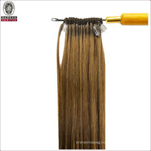 """Straight 18"""" Brazilian 100% Human Virgin Remy Hair Extension Easy Pull Thread Knotted Hair"""