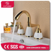 European contracted brass swan basin faucet