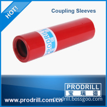 High precision rock drill thread rod sleeve