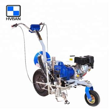 HB3400 Road marking machine with piston pump