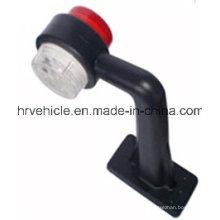 2 '' Red Clear Double Face Light для грузовиков и трейлеров