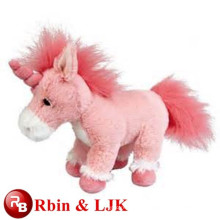 customized OEM design!Hot sale ! plush toy pink unicorns