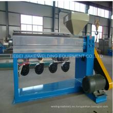 Motor inversor Máquina de fabricación de cables revestida de PVC