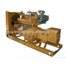 CE approved best quality green power 50kw biogas generator set