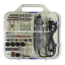 161pcs 135W Portable Power Hobby Kit de herramientas de herramientas Kit de accesorios Handheld Grinding Mini molinillo eléctrico