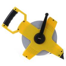 100meter Pvc Tape Blade Fiberglass Land Measuring Tape