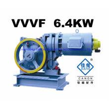 6.4KW-máquina de tracción para ascensor MRL
