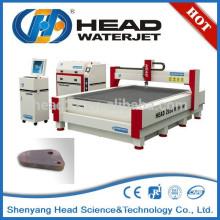 Saubere Endprodukte Hydrauliksystem Wasserstrahlschneidemaschine in Metall