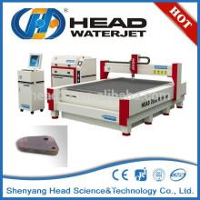 Nettoyage des produits finis système hydraulique machine à couper jet d'eau en métal