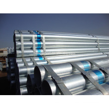 Tianjin factory hot dipped galvanized round steel pipe