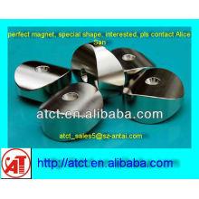 NdFeB speziell geformten motor magnet