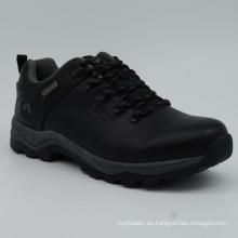 Zapatos de calidad superior hombres de cuero genuino Trekking