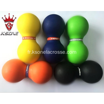 Rouleau de massage Peanut Yoga Ball