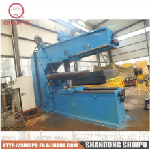 2014 Shuipo CNC cabeça do tanque, máquina de flanging dished final, máquina formadora de tubo final
