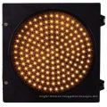 Carcasa de PC Señal de semáforo LED Carcasa de plástico amarillo