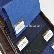 Tissu en nid d'abeille en oeillets de laine de Super 110 pour chemise