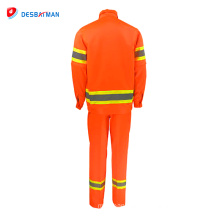 2018 safty new design en 20471 reflective tapes safety out work suit