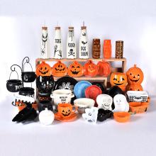 Halloween series Pumpkins apparition Decoration Ceramic tableware