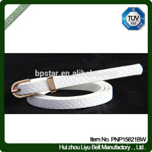 White PU women Belts for Female Dress Jeans Cintos Straps Designer Brand