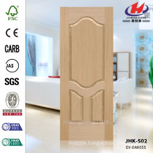 JHK-S02 Perfect Design Groove Pit Saudi Arabia Engineering Oak Molded Door Skin