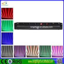 Ultra Bright BEAM LED DJ Light 8x10w Weiß oder RGBW 4in1 Quad LED Bar bewegte Kopf Licht