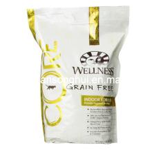 Пластичный мешок упаковки еды любимчика/стоит вверх мешок корм для кошек
