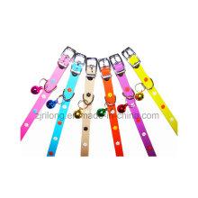 Collares de perro de la flor del sol del PVC Dp-CS1096