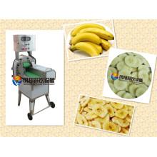 Machine de découpage de coupe de trancheuse de morceaux de banane électrique industrielle