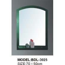 Espelho de vidro do banheiro da prata da espessura de 5mm (BDL-3025)