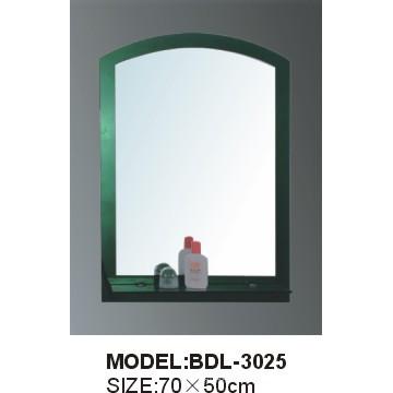 Espejo de baño de vidrio de plata de 5 mm de espesor (BDL-3025)