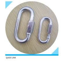 Enlace rápido galvanizado con tornillo Quick Link
