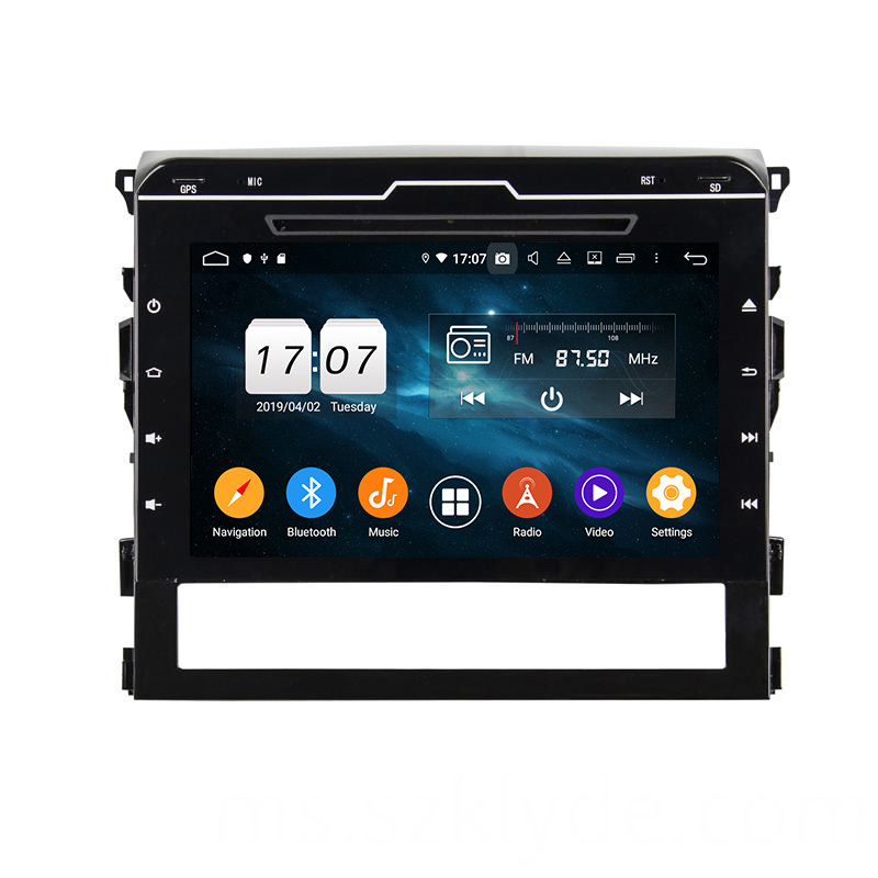 Land Cruiser 2016 android 9.0 audio