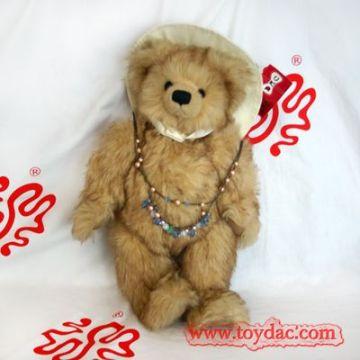 luxury faux fur teddy bear