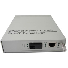 Managable Media Converter with Pluggable Card