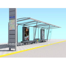 THC-2 modern metal bus stop shelter