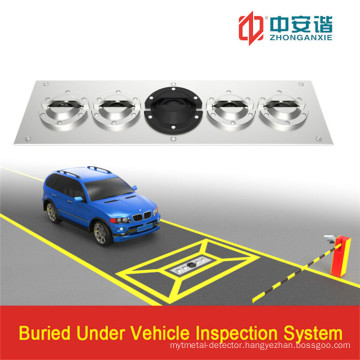 4 Channel Ideo Record Image Monitoring Under Vehicle Inspection System