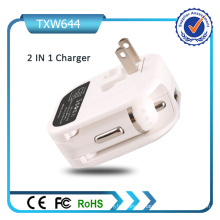 5V 2A Dual USB Ports voiture et chargeur mural