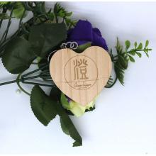 Wedding Gifts Wooden USB Flash Drive Custom  Logo 4GB 8GB Bamboo USBStick