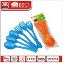 plastic spoon&fork set