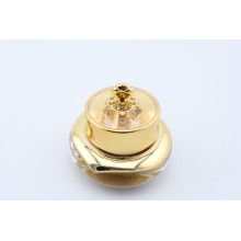 Top quality Acrylic golden jar suit for cream