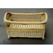 (BC-BA1009) Кровать младенца ивы высокого качества Handmade